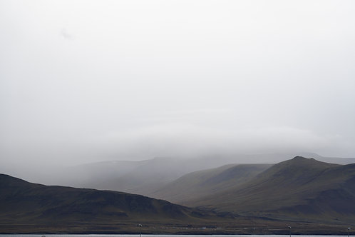 Iceland, South Iceland, landscape, storms, clouds, mountains, black and white, limited edition, fine art, photography
