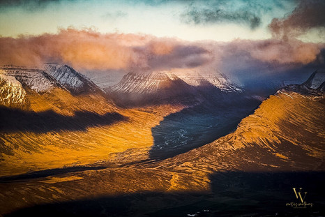 North Iceland Ridge Valley