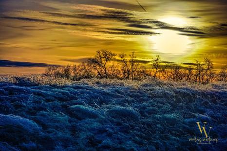 Sunrise Frosty Start Kansas