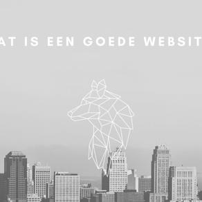 Wat is een goede website?