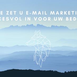 Hoe zet u e-mail marketing succesvol in voor uw bedrijf?