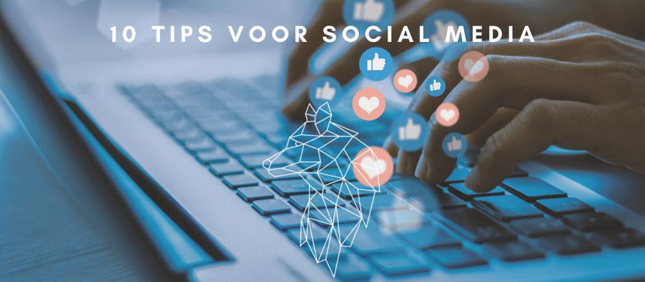 10 Tips voor social media gebruik voor uw bedrijf