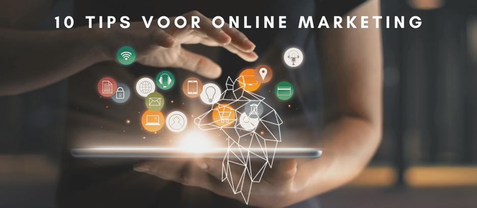 10 tips voor betere online marketing resultaten voor uw bedrijf