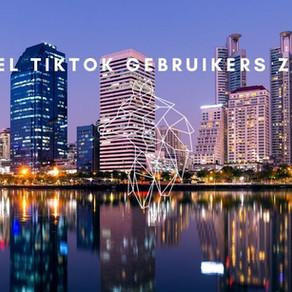 Hoeveel gebruikers heeft TikTok?