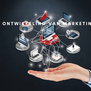 De ontwikkeling van online marketing