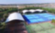 Couverture terrains de padel / Tennis / Foot