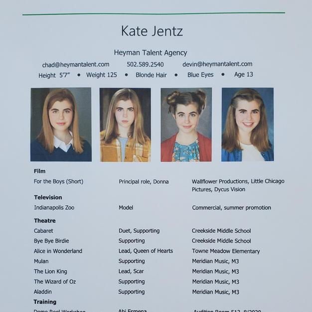 Kate Jentz - Resume
