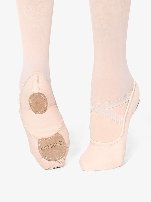 "Child's ""Hanami"" Canvas Split Sole Ballet Slipper"