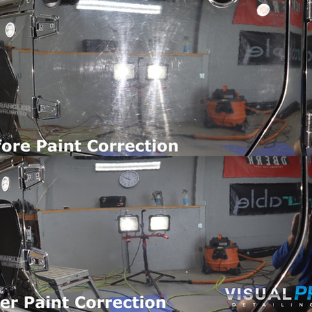 What are the differences in paint correction?
