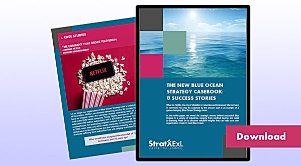 The New Blue Ocean Strategy Casebook Dow