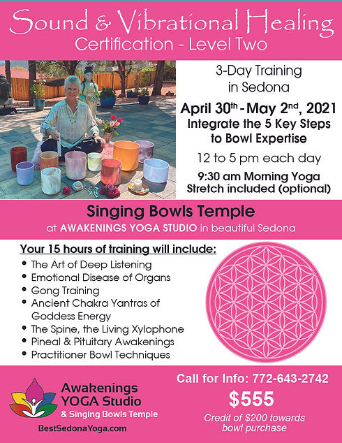 Sound Healing Flyer Level Two Lt Pink.jp