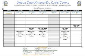 Class Schedule Cape Coral 3.JPG