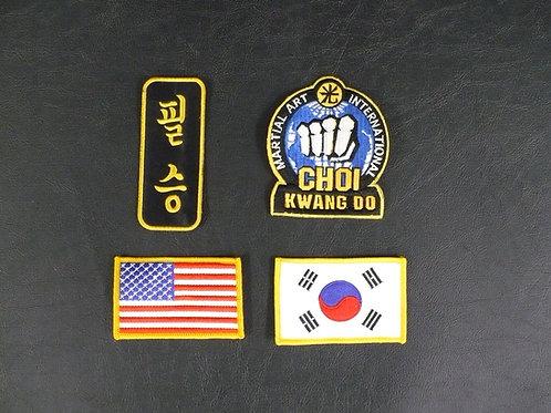Choi Kwang Do Basic Patch Set