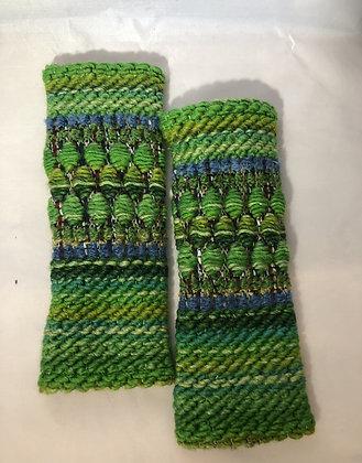 Woven Fingerless Gloves : 200583 Col 5 - Jijou Capri
