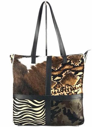 Metropolitan Pony Patch Tote Bag