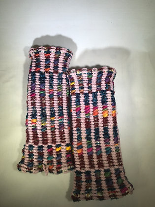 Woven Fingerless Gloves : 190565 Col 4 - Jijou Capri
