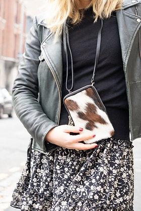 Cellphone Pony Cow Leather Wallet - Jijou Capri