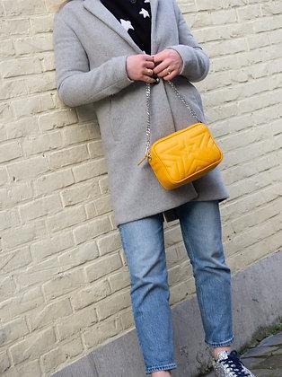 Mustard Paris Stars Leather Crossbody - Jijou Capri