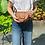 Thumbnail: Brown Vivi Grained Crossbody Bag - Jijou Capri