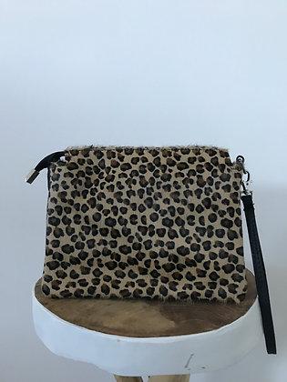 Elvira Pony Mini Cheetah Leather Crossbody bag - Jijou Capri