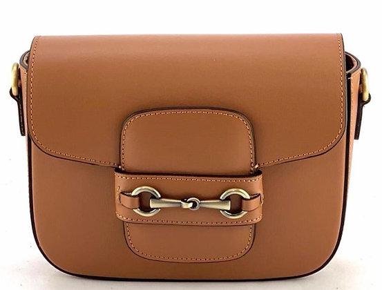 Sienna Box Crossbody Leather Bag