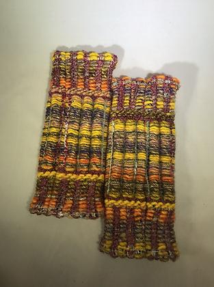 Woven Fingerless Gloves : 190563 Col 3 - Jijou Capri