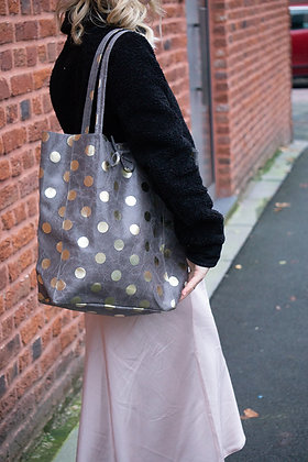 Big Golden Dots Tote Bag