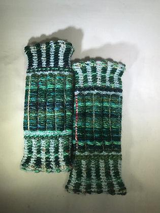 Woven Fingerless Gloves : 190563 Col 5 - Jijou Capri