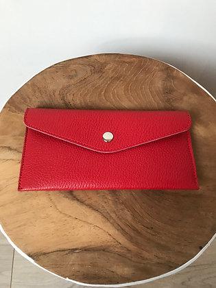 Wallet Bobo Solid Red - Jijou Capri
