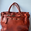 Thumbnail: Classic Orange Sophia Vintage Leather Handbag - Jijou Capri