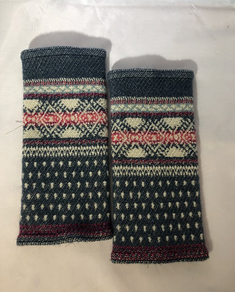 Woven Fingerless Gloves : 200001 Col 2 - Jijou Capri