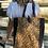 Thumbnail: Leather Half Pony Tote Bag