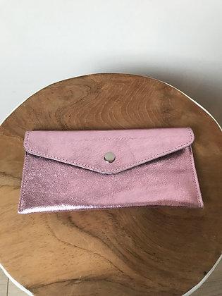 Wallet Bobo Metallic Pink - Jijou Capri
