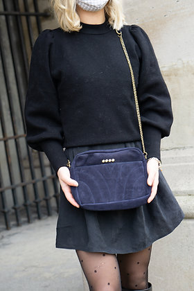 Navy Sedona Crossbody bag - Jijou Capri