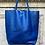 Thumbnail: Royal Blue Leather Tote Bag - Jijou Capri