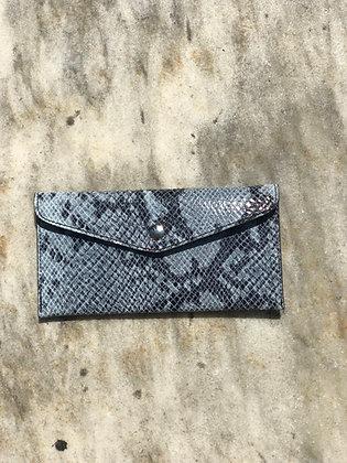 Wallet Bobo Snake Blue 47 - Jijou Capri
