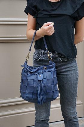 Damier Bucket leather vintage Handbag