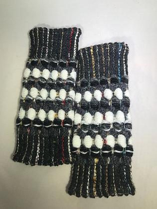 Woven Fingerless Gloves : 190574 Col 1 - Jijou Capri