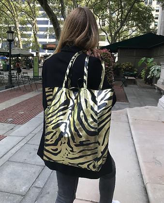 Big Zebra Tote Bag