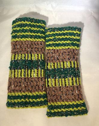 Woven Fingerless Gloves : 200582 Col 3 - Jijou Capri