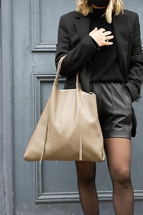 Odette Leather Tote Bag