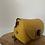 Thumbnail: Lily Bamboo Mustard Leather Crossbody bag - Jijou Capri