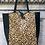 Thumbnail: Leather Half Pony Mini Cheetah Tote Bag - Jijou Capri