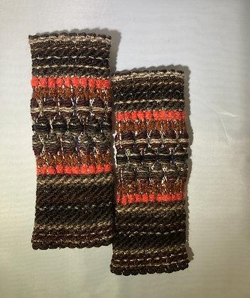 Woven Fingerless Gloves : 200583 Col 7 - Jijou Capri