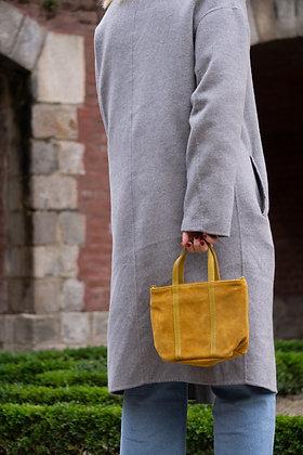 Mini Savannah Mustard Handbag - Jijou Capri