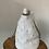 Thumbnail: White Liliana Bucket Studs Crossbody Bag - Jijou Capri