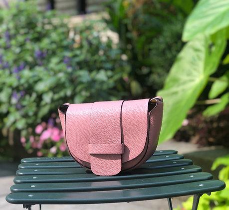 Blush Vivi Grained Crossbody Bag - Jijou Capri