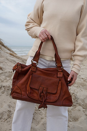 Meryl Vintage Leather Handbag