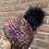 Thumbnail: Chunky Knits Beanie JJ85 Purple - Jijou Capri