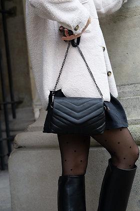 Mandy Black Mini Crossbody bag - Jijou Capri